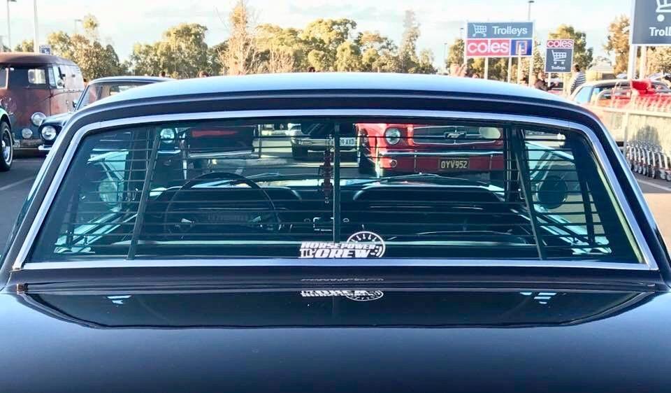 Sticker-Window-classic-on-mustang