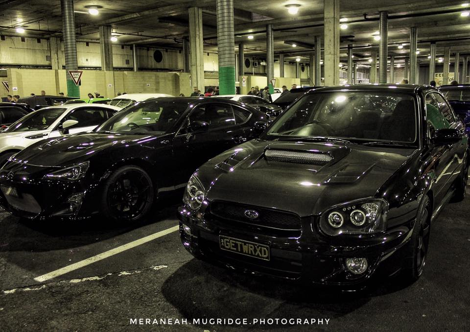 Black WRX & 86