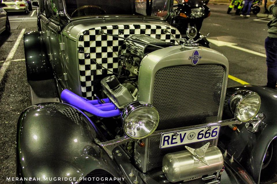 Grey Hot Rod