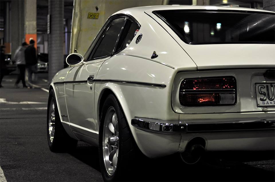 White Datsun