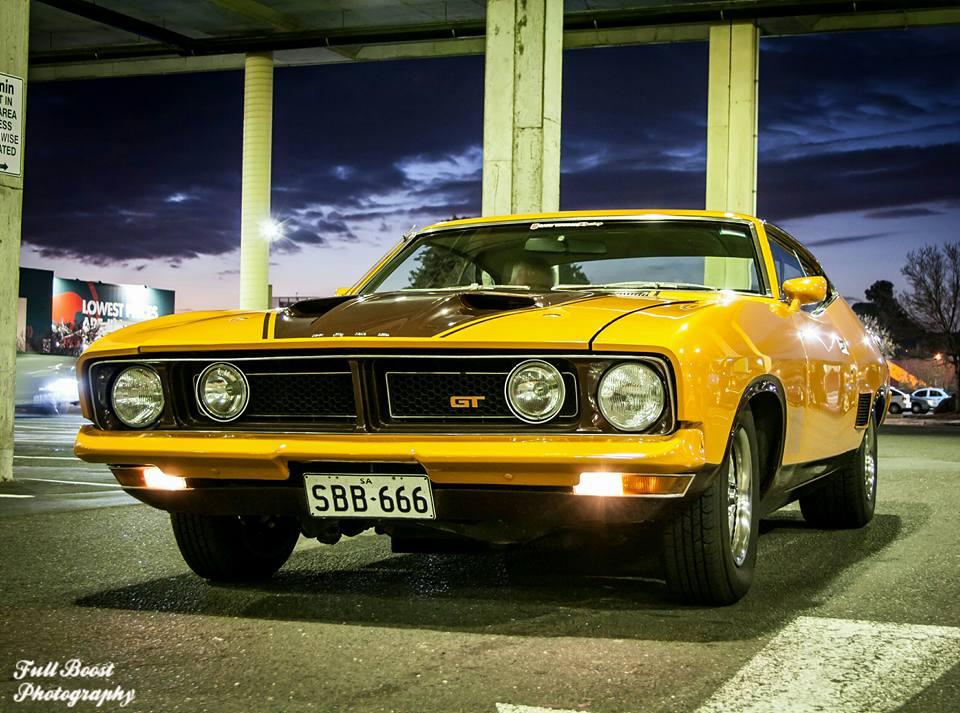 Orange Ford