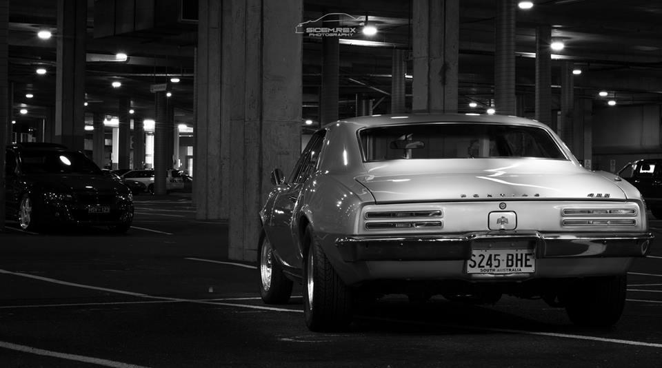 Silver Pontiac